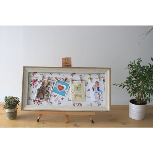 Med DIY Peg Photo Frames - Floral - Simply Utopia