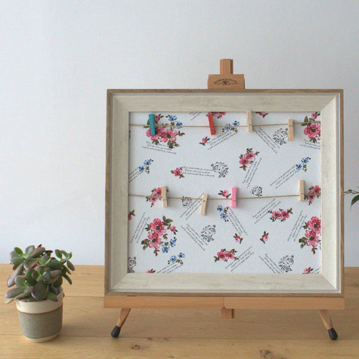 Small DIY Peg Photo Frames - Floral - Simply Utopia