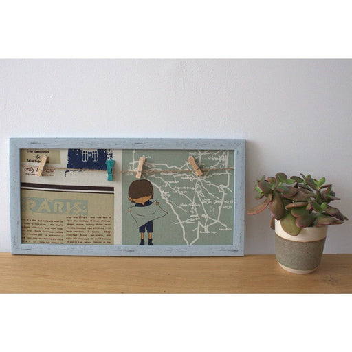 Mini DIY Peg Photo Frames - Assorted Places - Simply Utopia