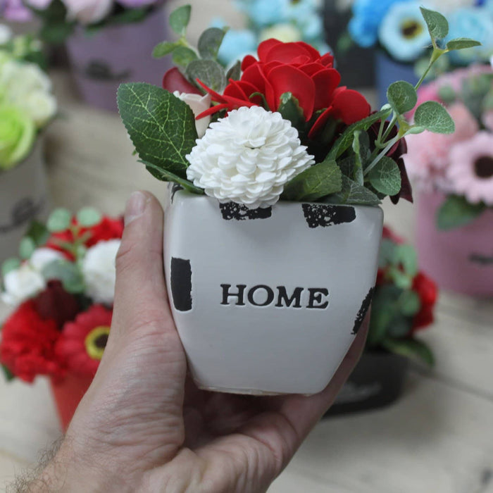 Bouquet Petite Flower Pot - Peaceful Pink - Simply Utopia