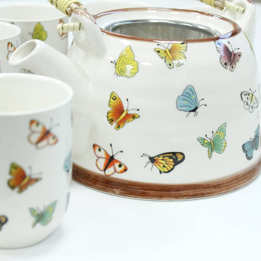 Herbal Teapot Set - Butterflies - Simply Utopia