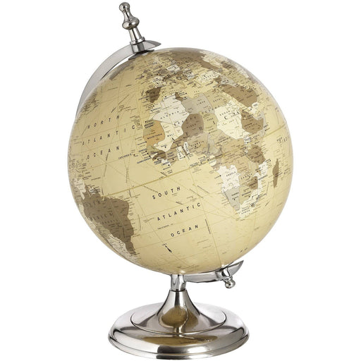 Chrome Desktop Globe - Simply Utopia