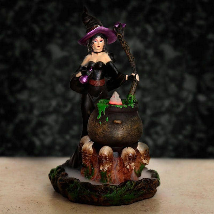 Witches Cauldron Backflow Incense Burner - Simply Utopia