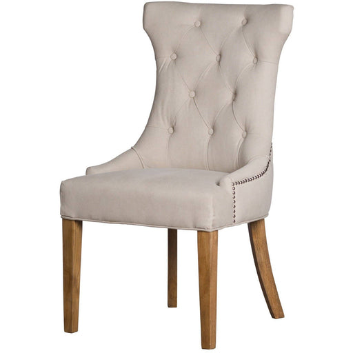 High Wing Ring Backed Dining Chair - Simply Utopia