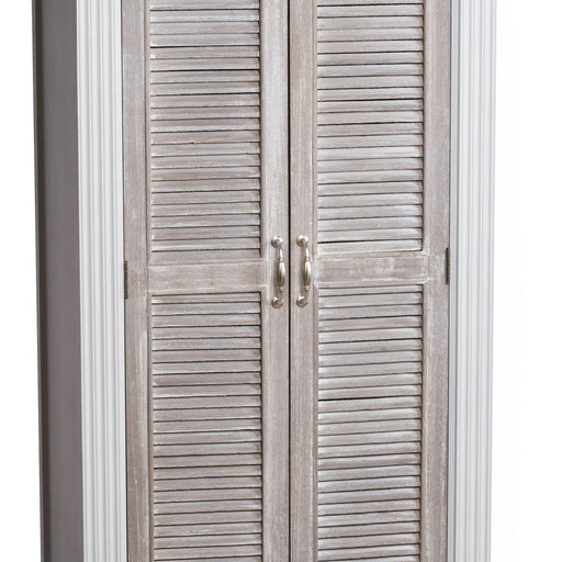 Liberty Collection Shoe Cupboard With Louvered Door - Simply Utopia