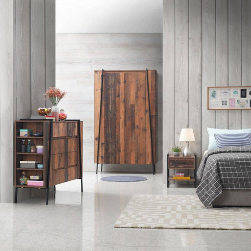 Abbey 3 Piece Bedroom Set 4 Drawers - Simply Utopia