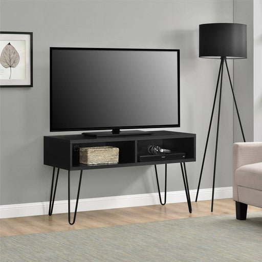 Owen Retro Tv Stand With Black Hairpin Legs - Simply Utopia