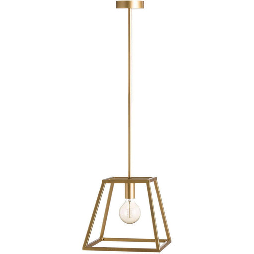 Brass Piped Pendant Light - Simply Utopia