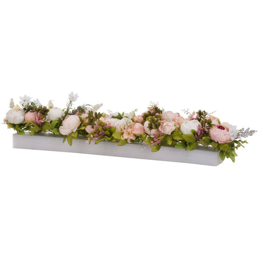 Faux Peony Table Runner - Simply Utopia