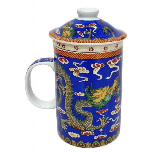 Blue Dragon Infuser Mug - Simply Utopia