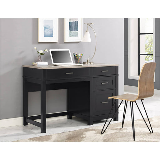 Carver Lift Top 4 Drawer Desk - Simply Utopia