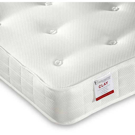 Clay Ortho Low Profile Open Coil Mattress - Simply Utopia