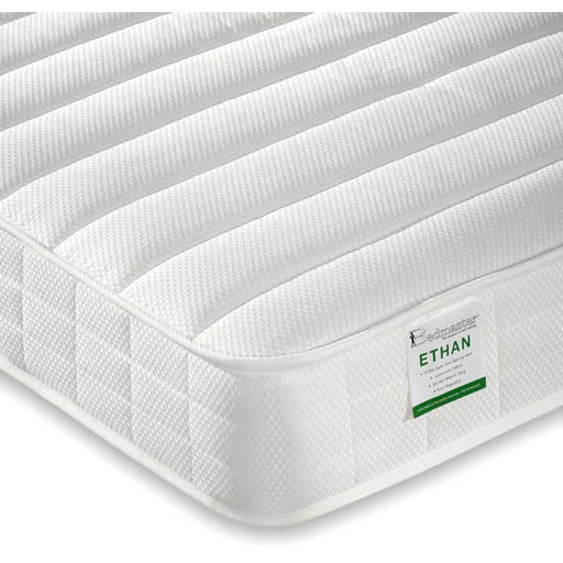Ethan Micro Quilted Open Coil Low Profile Mattress - Simply Utopia