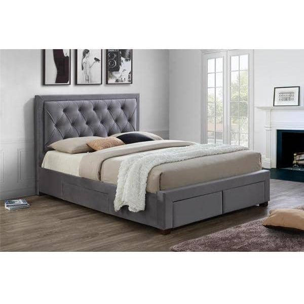 Woodbury Fabric Bed - Simply Utopia