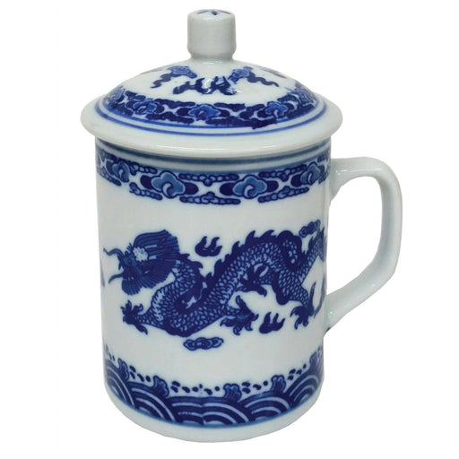 Double Dragon Porcelain Mug - Simply Utopia
