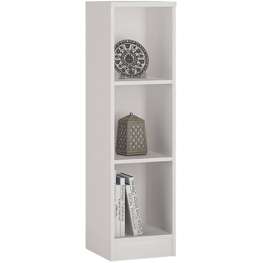 4 You Medium Narrow Bookcase With 2 Shelves - Simply Utopia