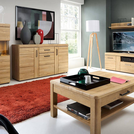Cortina 3 door 1 drawer sideboard - Simply Utopia