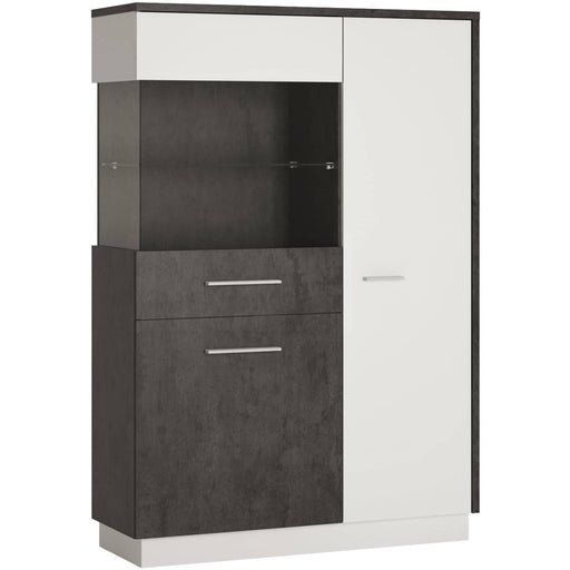 Zingaro Low display cabinet (LH) - Simply Utopia