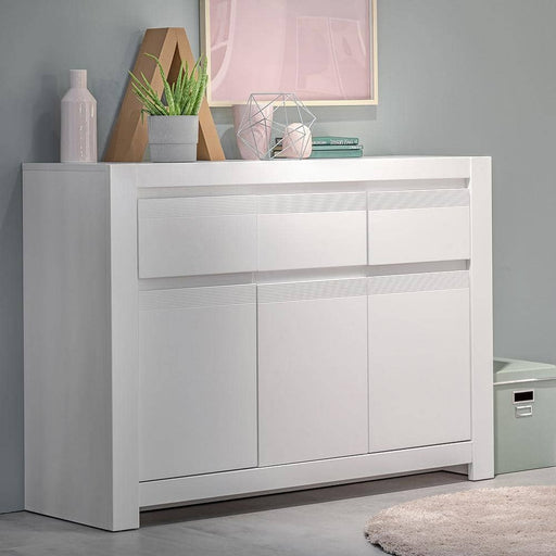 Novi 3 Door 3 Drawer Cabinet - Simply Utopia