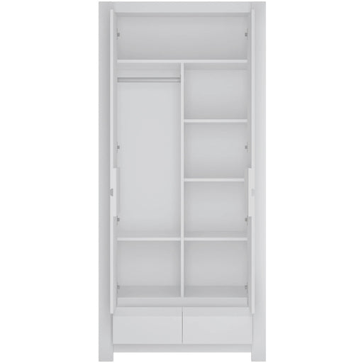 Novi 2 Door Wardrobe - Simply Utopia