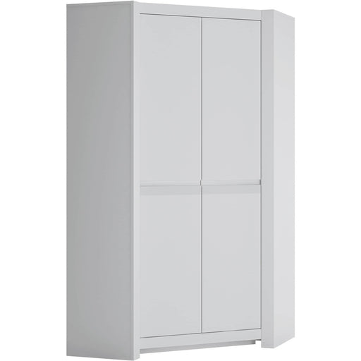 Novi 2 Door Corner Wardrobe - Simply Utopia