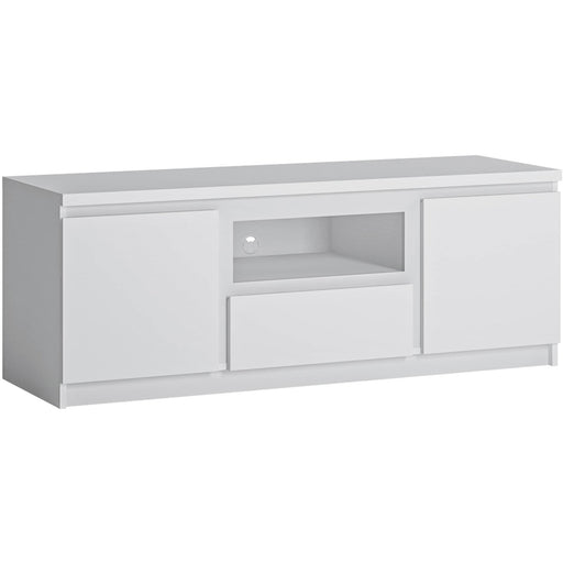 Fribo 2 door 1 drawer 136 cm wide TV cabinet - Simply Utopia