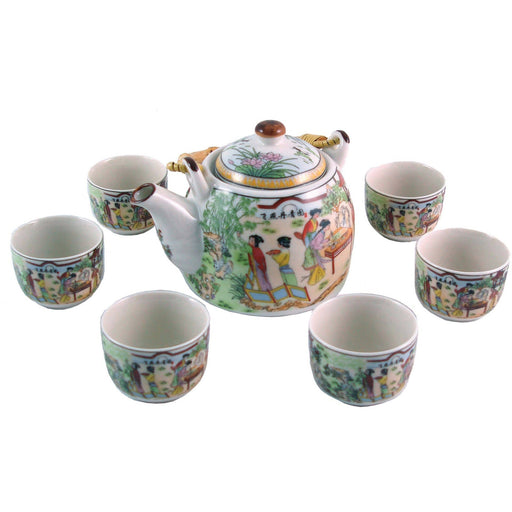 Palace Garden traditional Porcelain Teaset - Simply Utopia