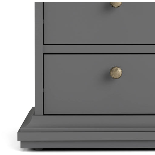 Paris Bedside 2 Drawers - Simply Utopia