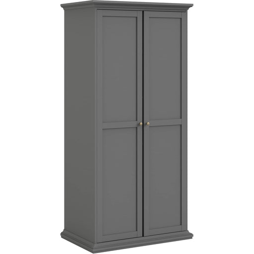 Paris Wardrobe with 2 Doors - Simply Utopia