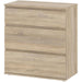 Nova Chest of 3 Drawers in Oak - Simply Utopia