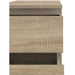 Nova Narrow Chest of 5 Drawers in Oak - Simply Utopia