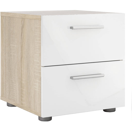 Pepe Bedside 2 Drawers - Simply Utopia