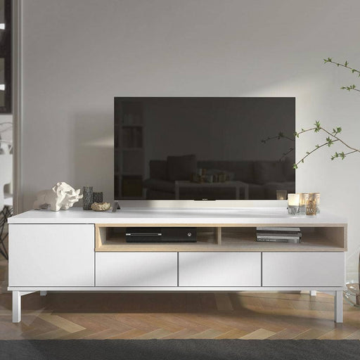 Roomers TV Unit 3 Drawers 1 Door - Simply Utopia