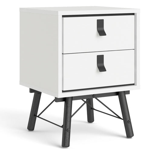Ry Bedside cabinet 2 drawer - Simply Utopia