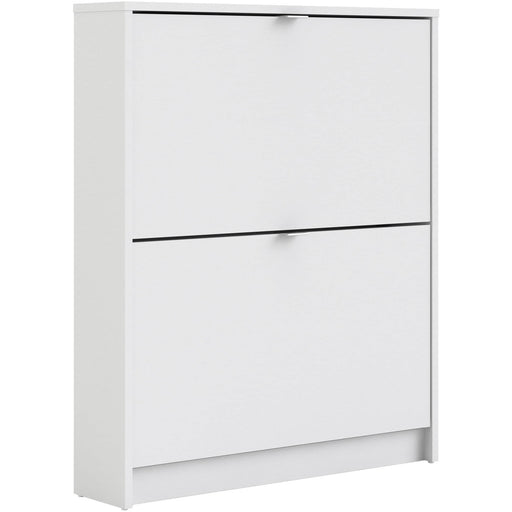Shoe Cabinet With 2 Tilting Doors And 1 Shelf - Simply Utopia