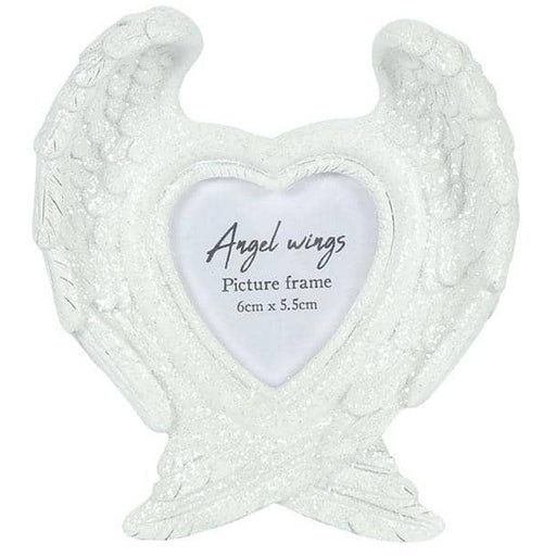 Glitter Angel Wing Photo Frame - Simply Utopia