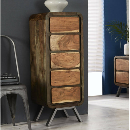 Aspen 5 Drawer Tall Chest - Simply Utopia