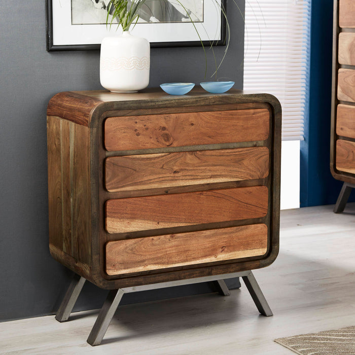 Aspen 4 Drawer Wide Chest - Simply Utopia