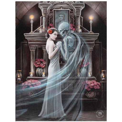 19x25cm Forever Yours Canvas Plaque by Anne Stokes - Simply Utopia