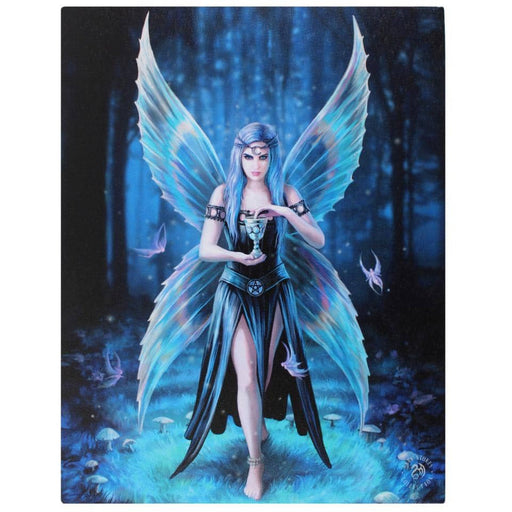19x25cml Enchantment Canvas Plaque by Anne Stokes - Simply Utopia