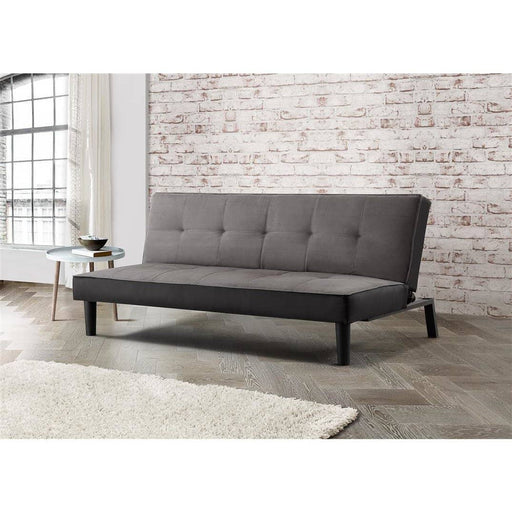 Aurora Sofa Bed Grey Velvet - Simply Utopia
