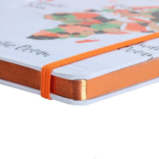 A5 Map Print Travel Journal - Simply Utopia