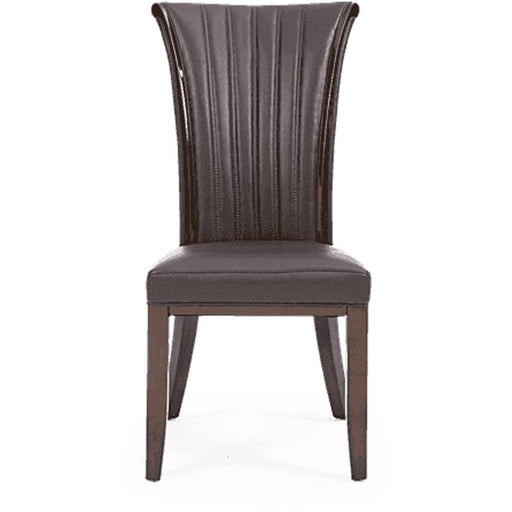 Almeria Leather Dining Chair (Pairs) - Simply Utopia