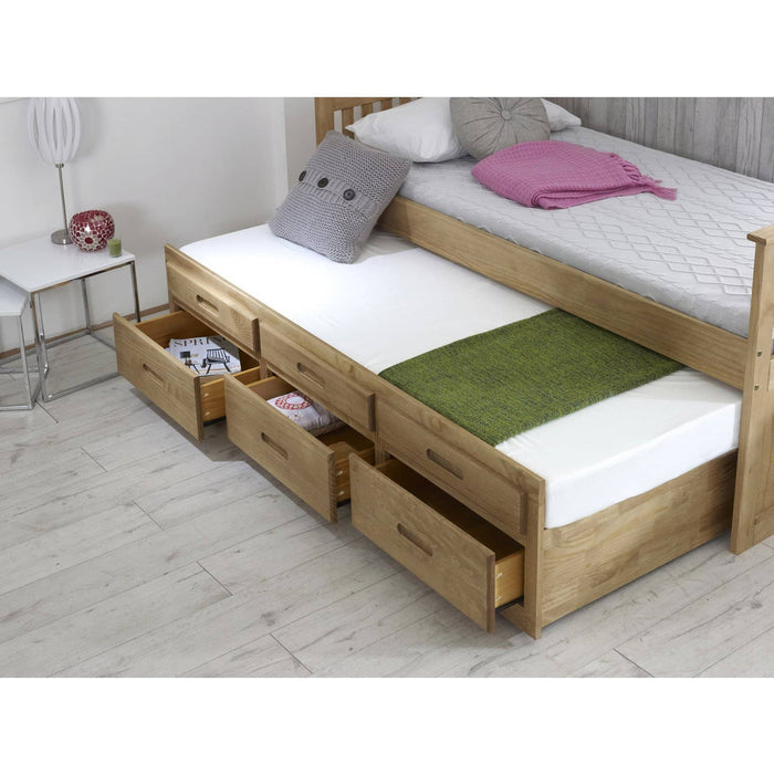 Captains Bed +  Underbed Waxed - Simply Utopia