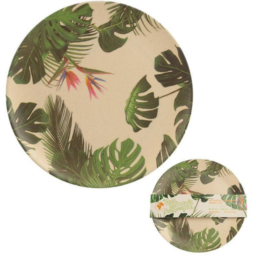 Bamboo Composite Cheese Plant Plate - Simply Utopia