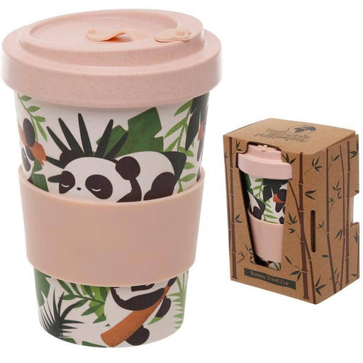 Bamboo Composite Pandarama Screw Top Travel Mug - Simply Utopia