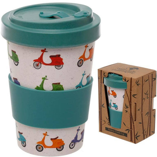 Bamboo Composite Scooter Screw Top Travel Mug - Simply Utopia