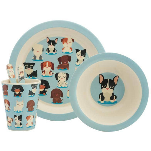Bamboo Composite Dog Squad Kids Dinner Set - Simply Utopia