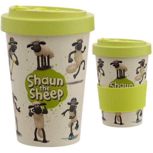 Bamboo Composite Shaun the Sheep Screw Top Travel Mug - Simply Utopia
