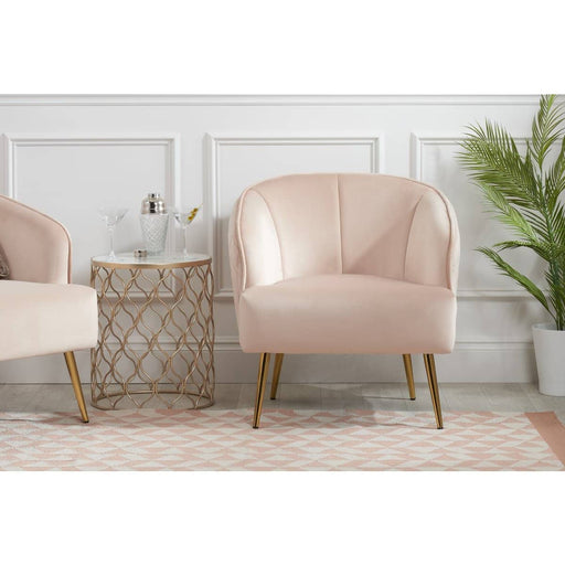 Bella Chair Blush Pink - Simply Utopia